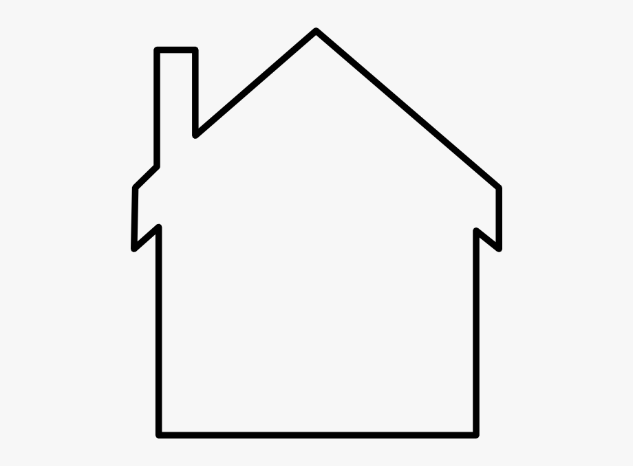 Schoolhouse clipart outline.