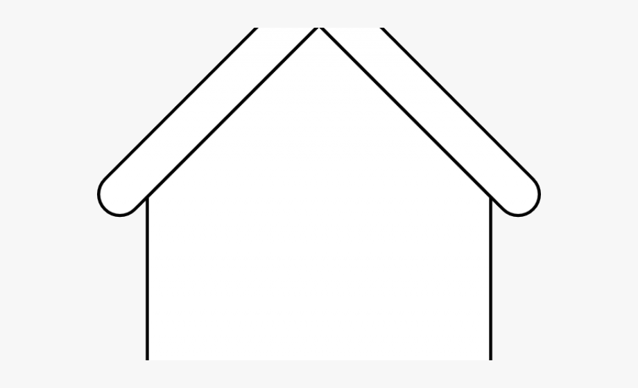 Rooftop clipart simple.