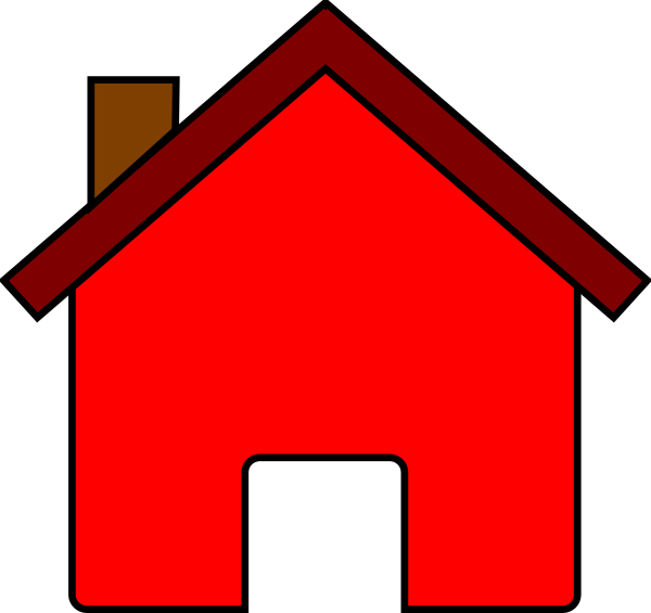 Free Red House Cliparts, Download Free Clip Art, Free Clip