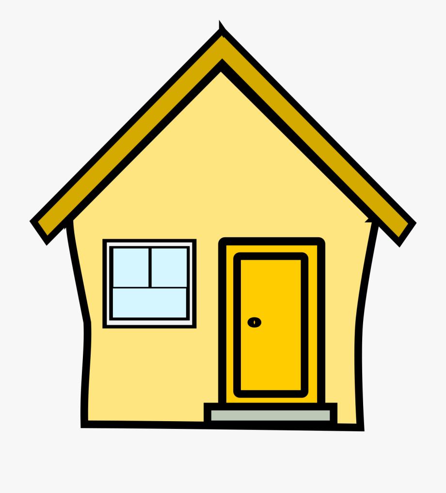 Yellow Door Clipart