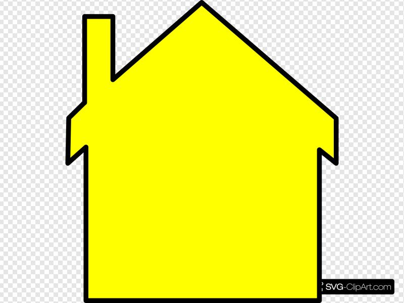 Yellow House Clip art, Icon and SVG