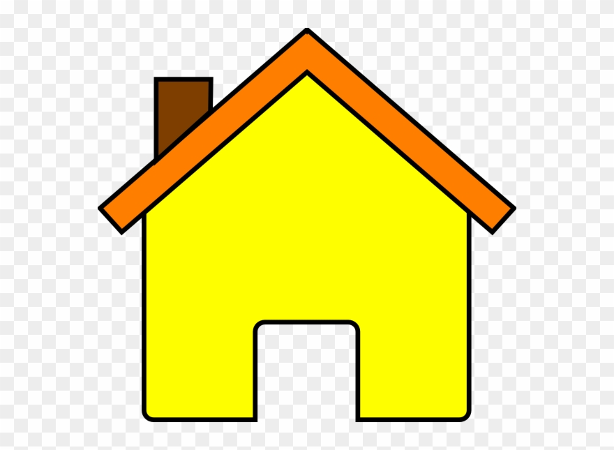 Yellow house clip.