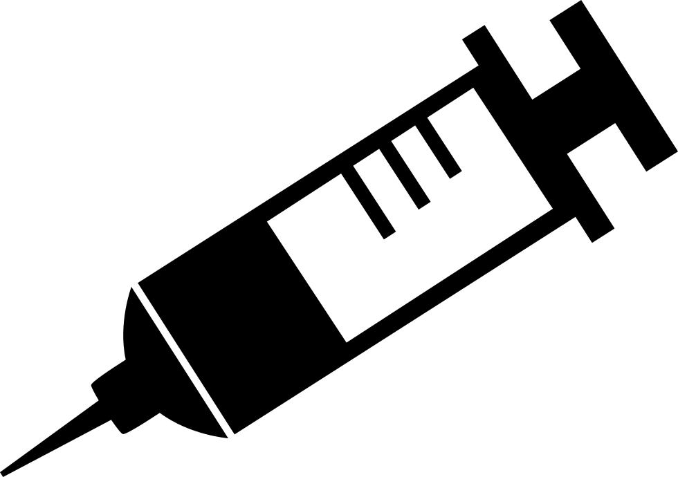 Syringe hypodermic needle.