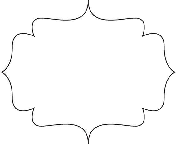 Plaque shape clipart clip.