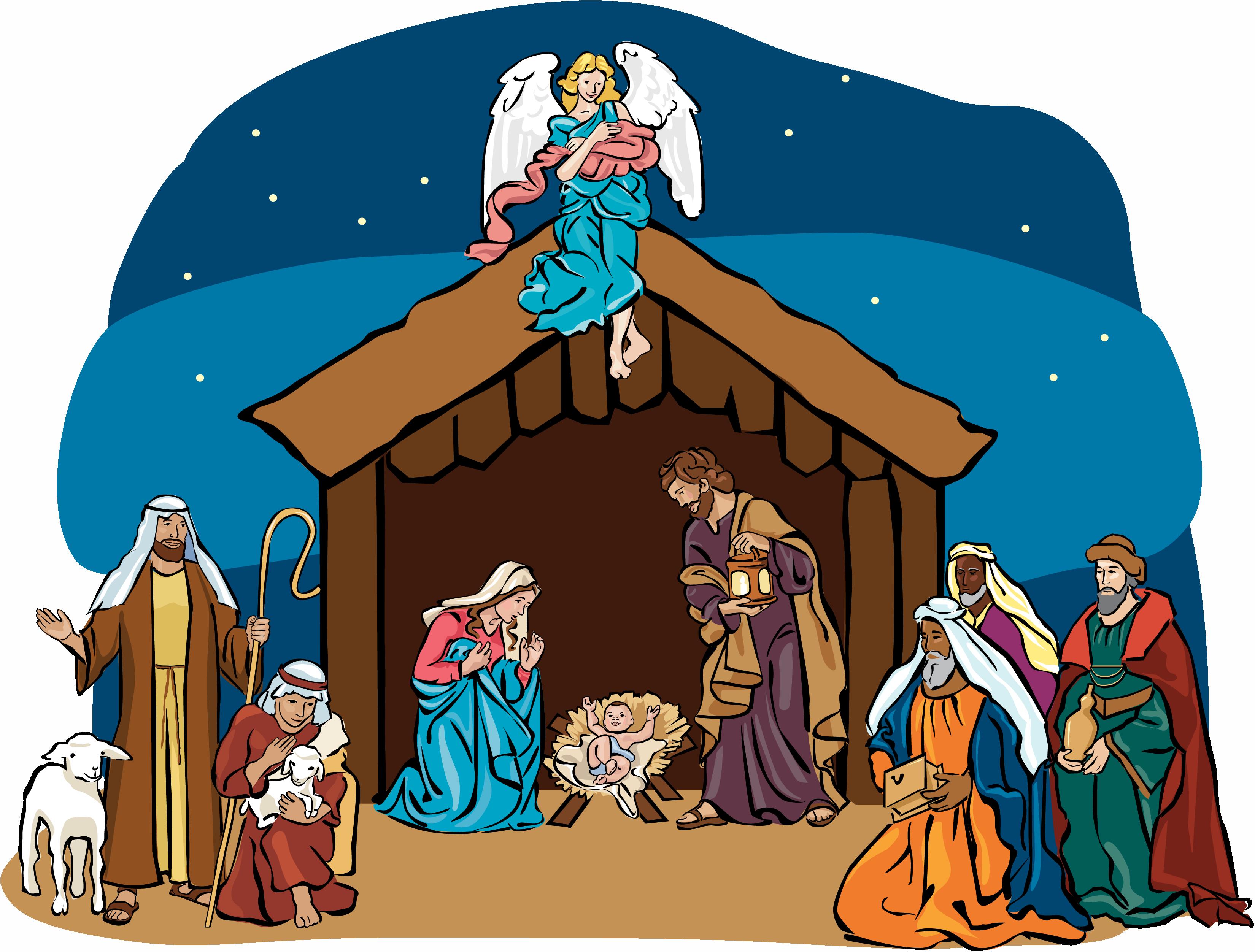 Jesus clipart manger, Jesus manger Transparent FREE for