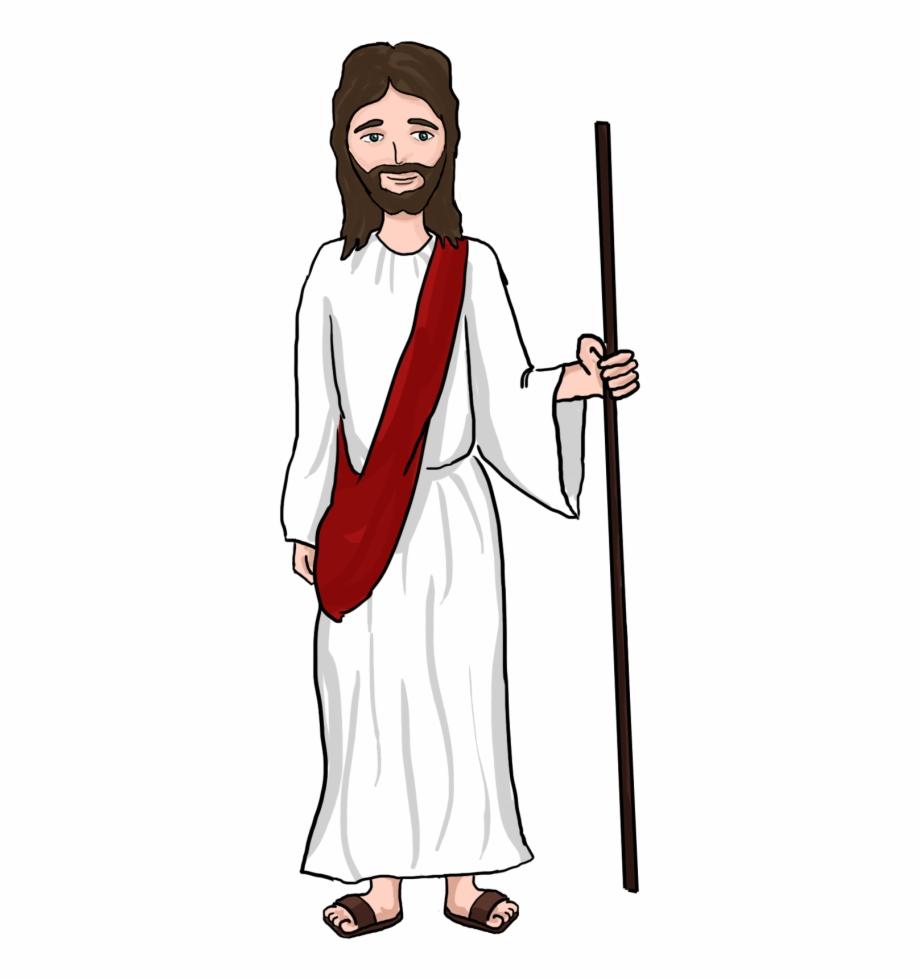 Jesus shepherd clipart.
