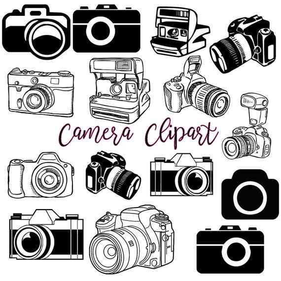 Camera clipart 1.
