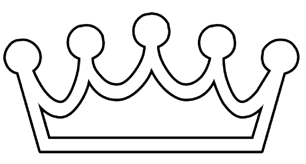 Crown black and.