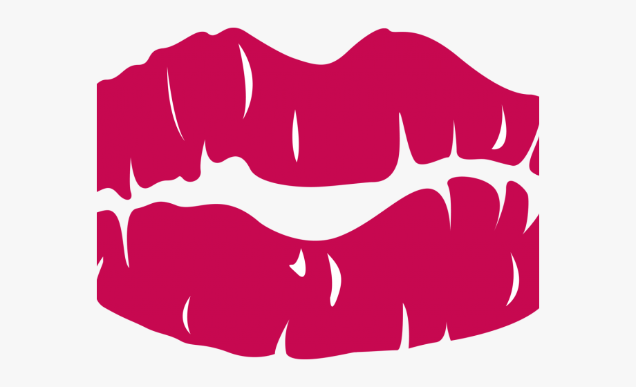 Kissing clipart lip.