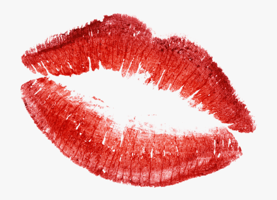 Kiss clipart transparent.