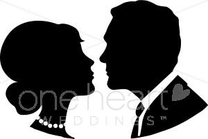 Wedding kiss clip.
