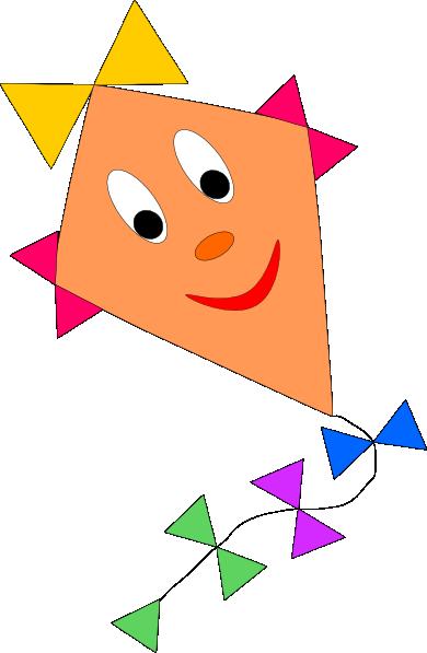 Kite Clip Art at Clker