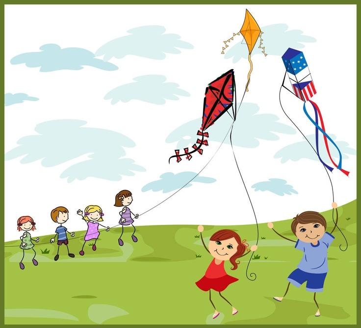 Free kite flying.
