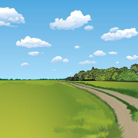 Free Summer Landscape Background