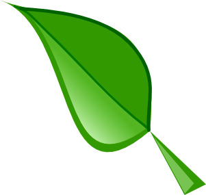 Leaf animated leaves clipart image