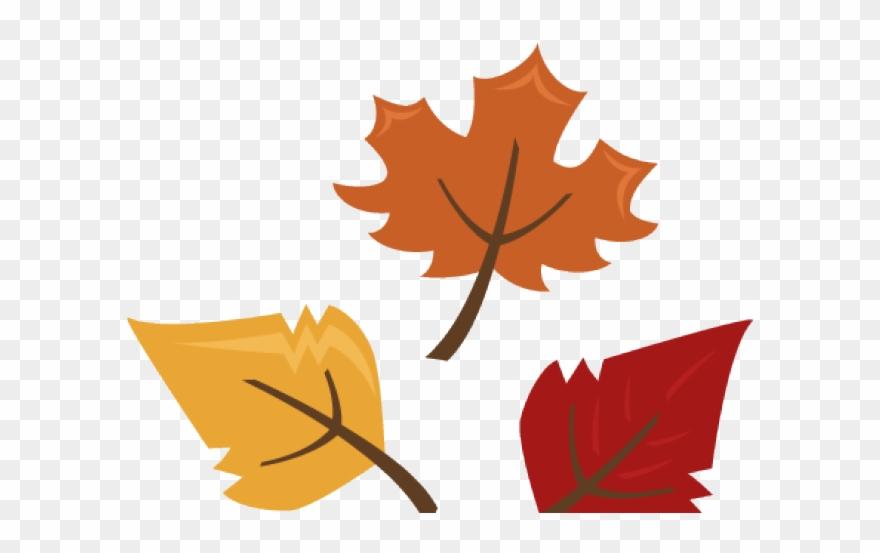Autumn leaves clipart.