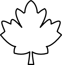 Maple Leaf Black And White Clipart Panda Free Clipart Images