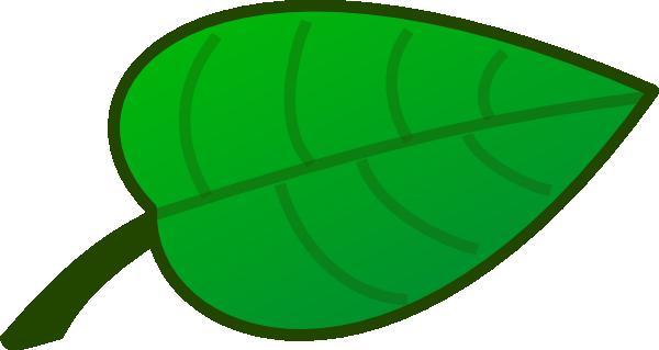 Free cartoon leaf.