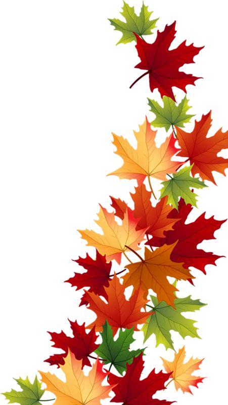 Autumn clipart corner, Autumn corner Transparent FREE for