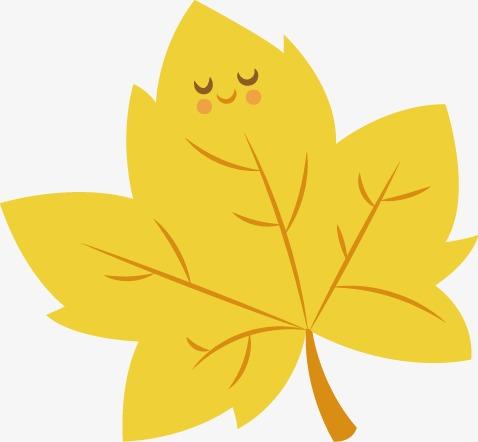 Cute leaves clipart