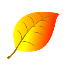 Free Yellow Leaf Clipart Image