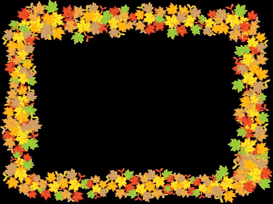 Leaves clipart frame.