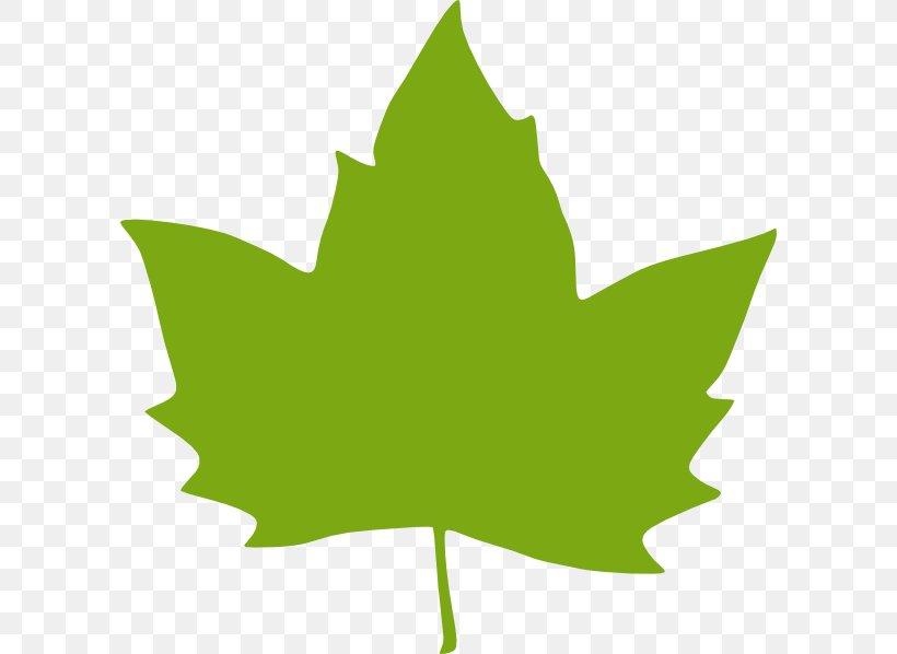 Leaf green clip.