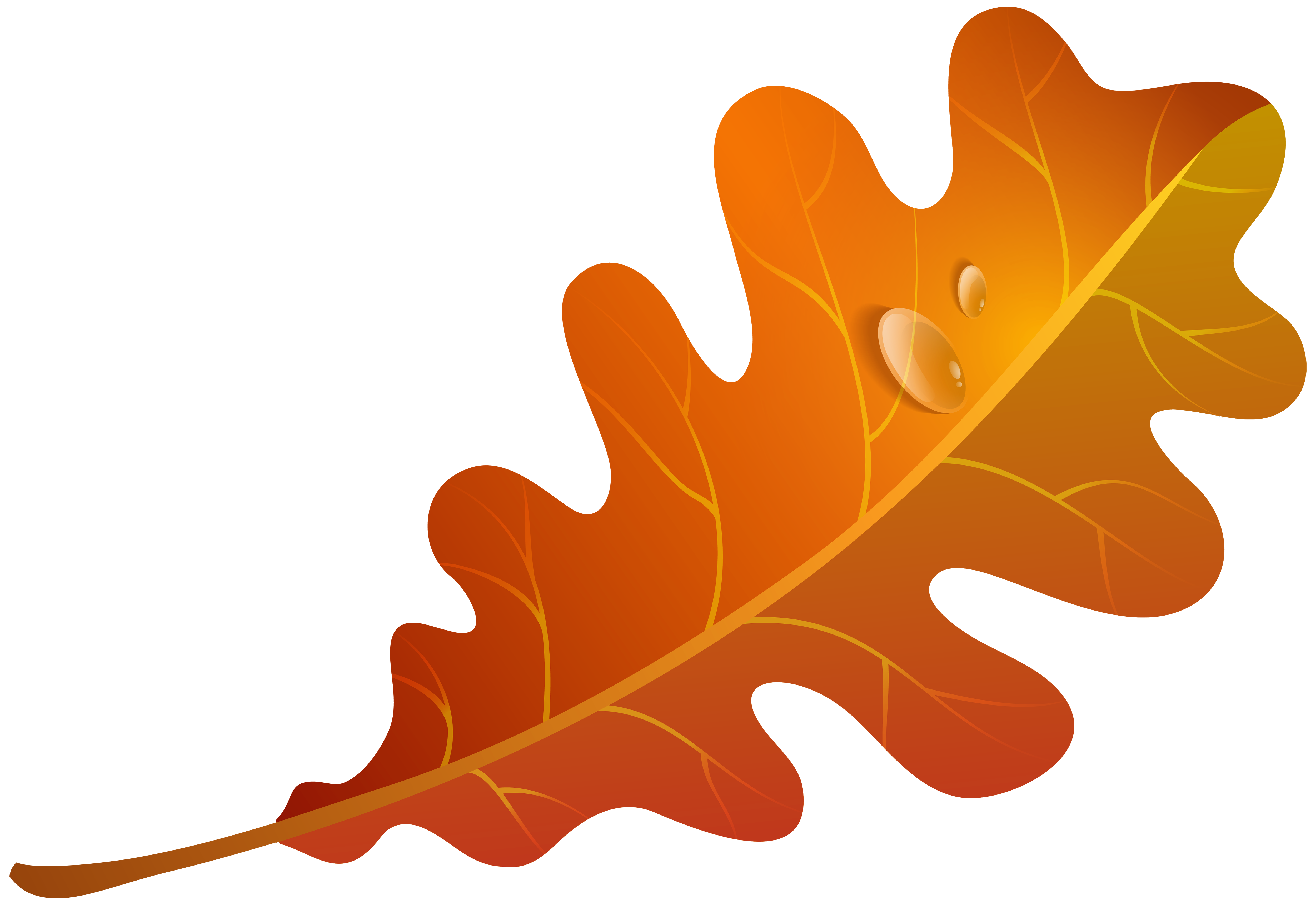 Free Orange Leaves Cliparts, Download Free Clip Art, Free