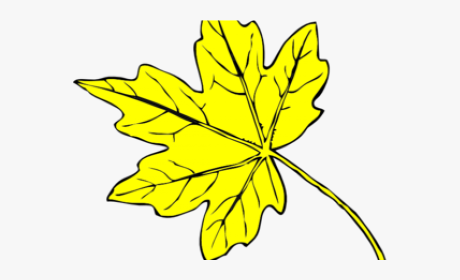 Yellow Flower Clipart Leave Clipart