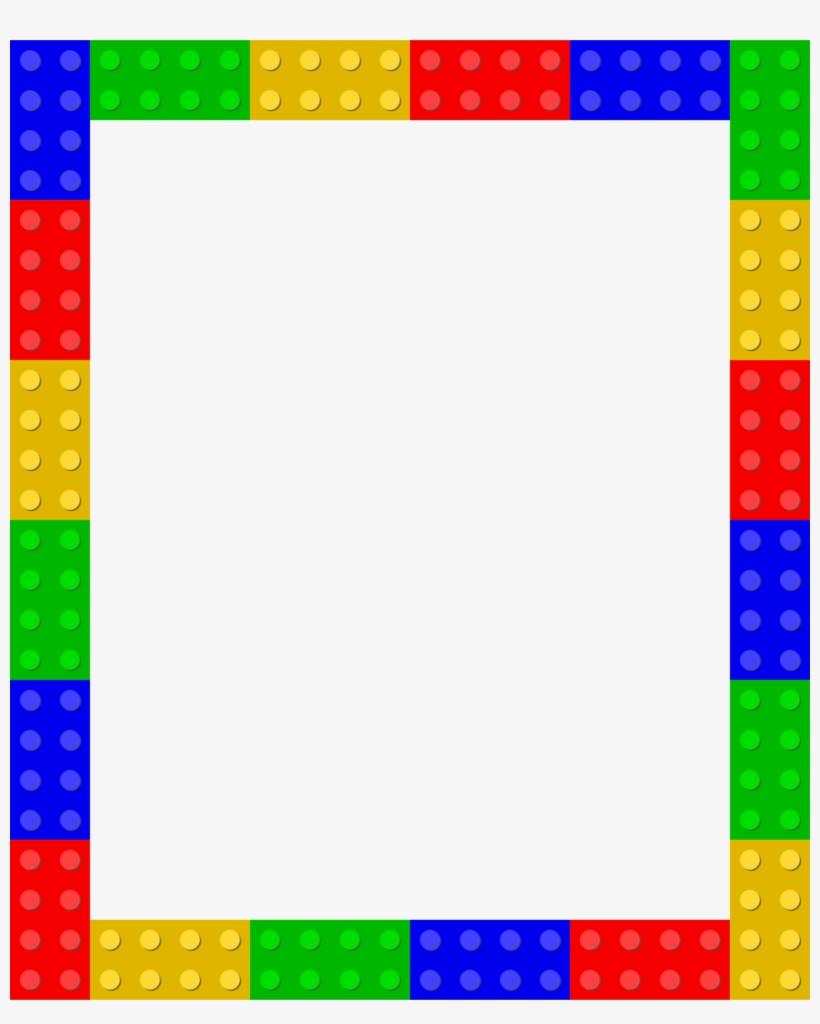 Lego frame png.