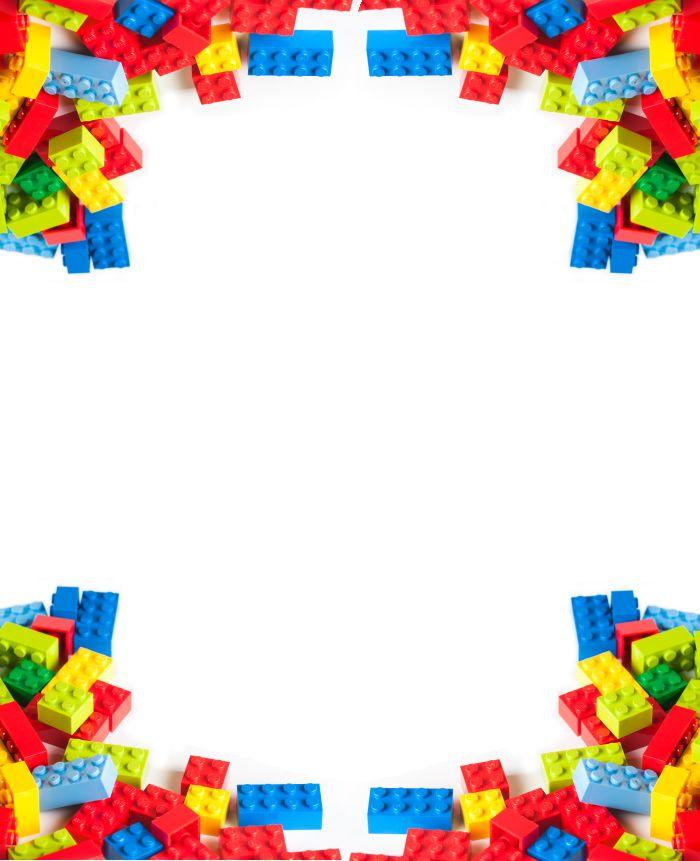 Lego frame clipart.