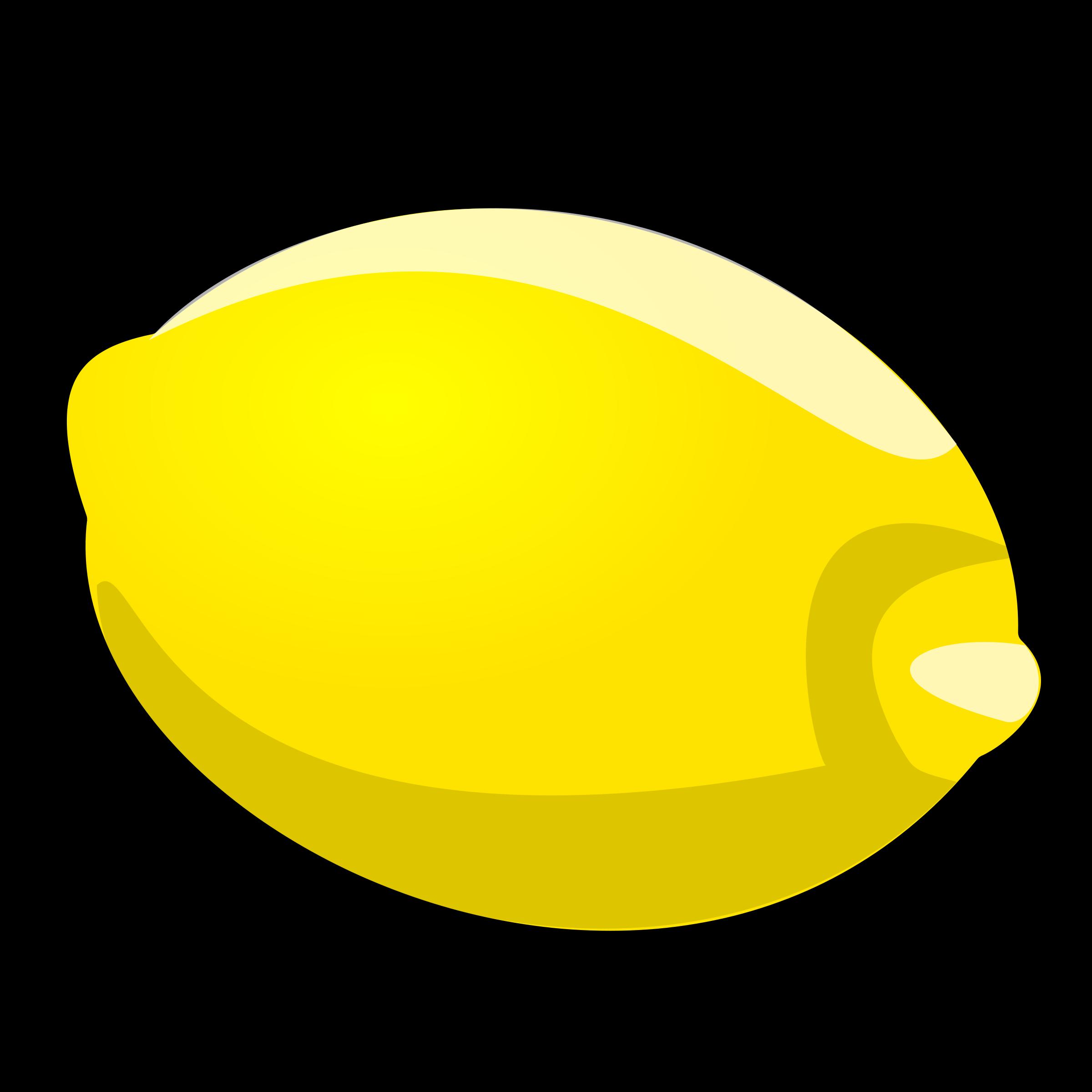 Lemon clip art.
