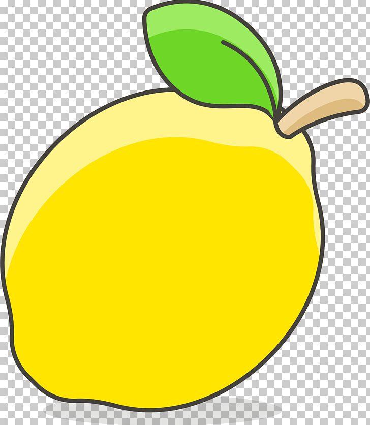 Lemon cartoon drawing.
