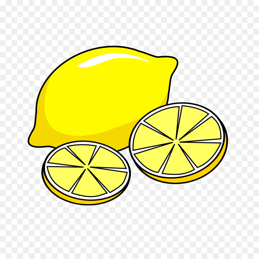 Cartoon lemon clipart.