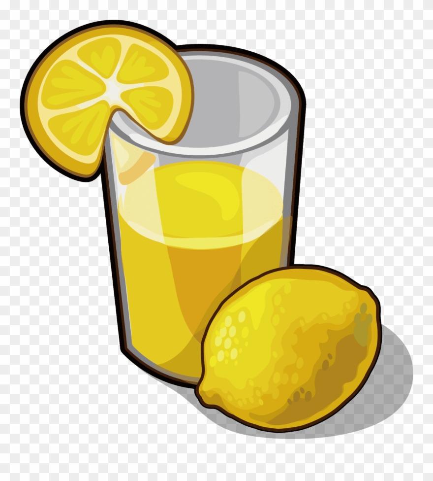 Juice lemonade drink.