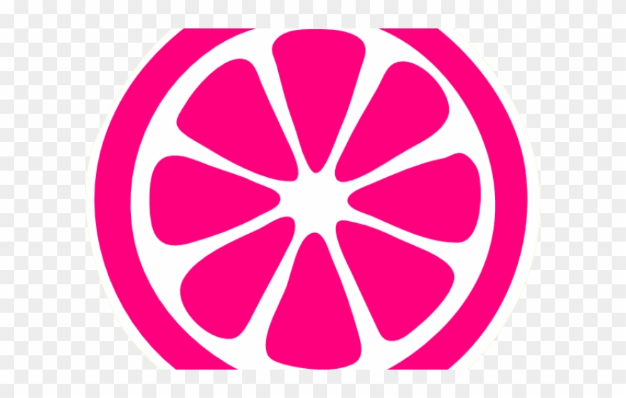 Lemon Clipart Pink Lemon