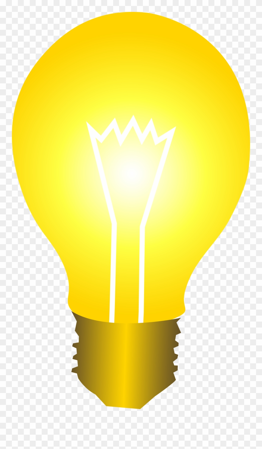 Bright yellow idea.