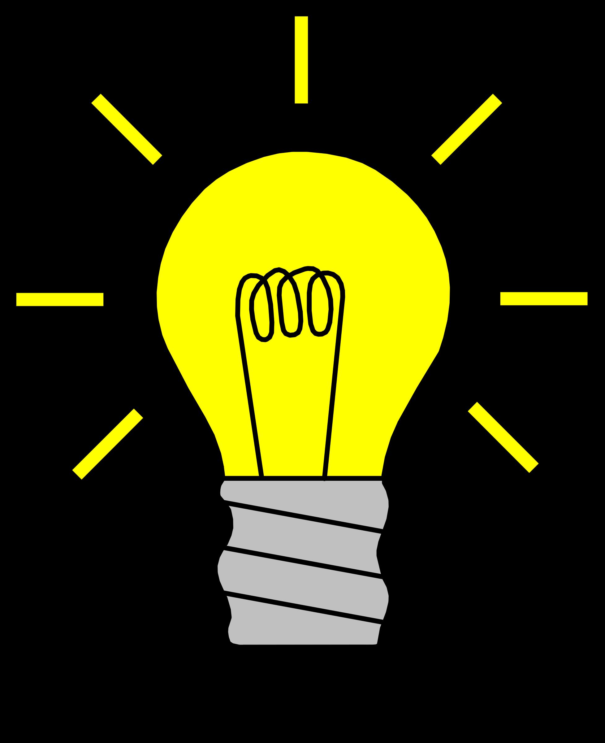 Lightbulb free light.