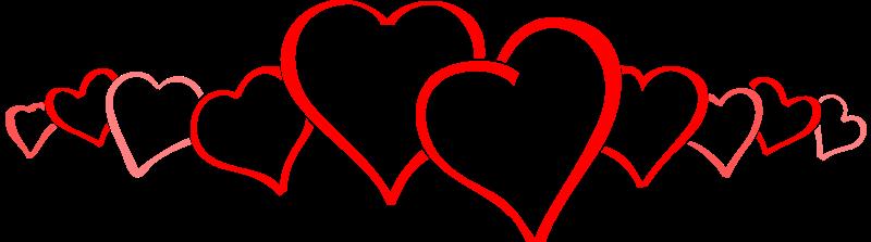 Free hearts line.