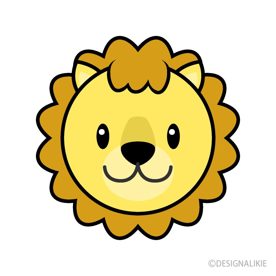 Simple lion face.