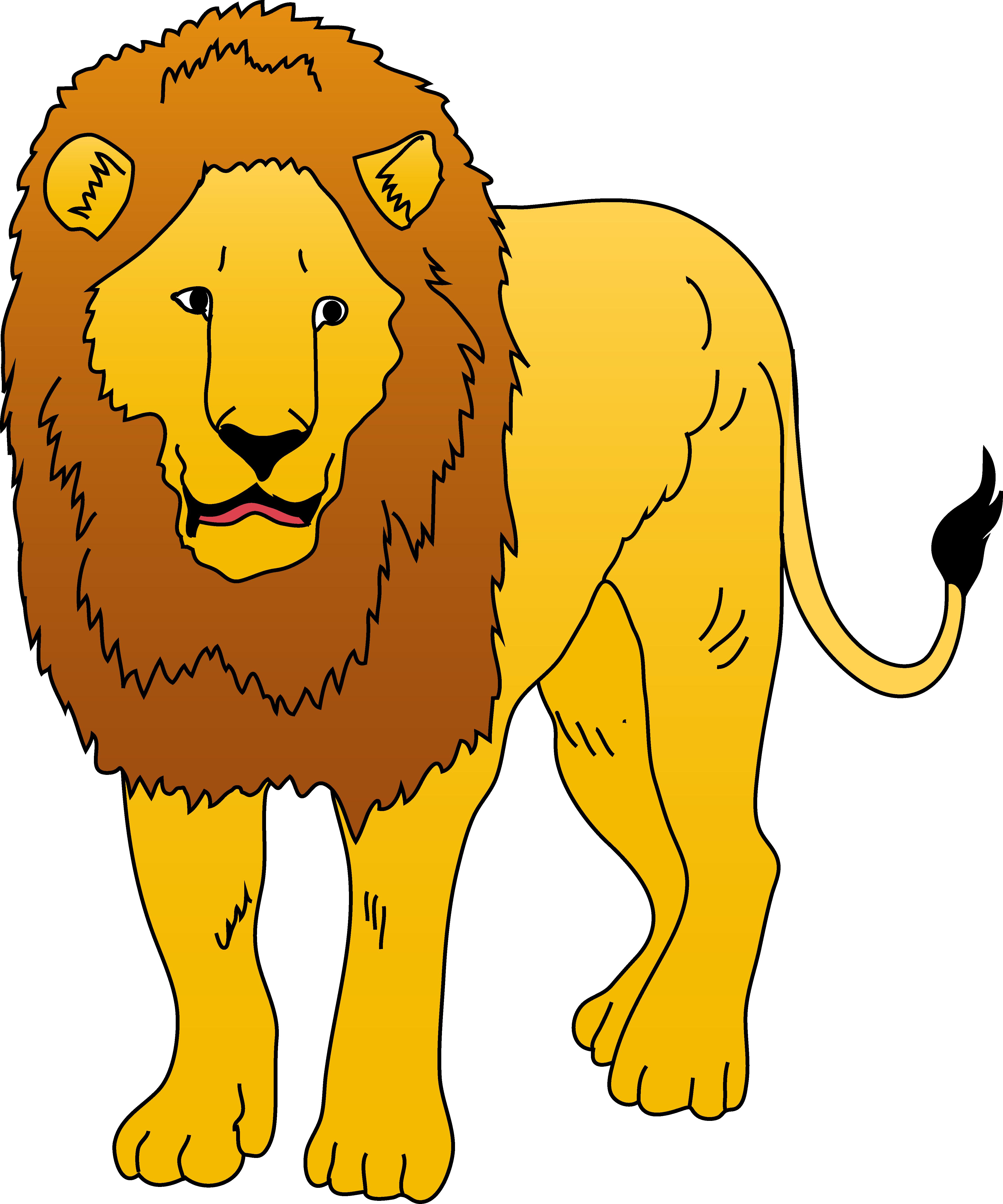 Best lion clipart.