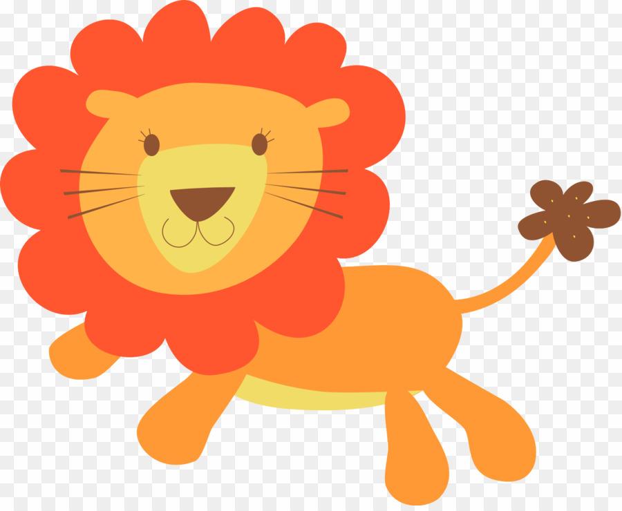 Baby lion clip.
