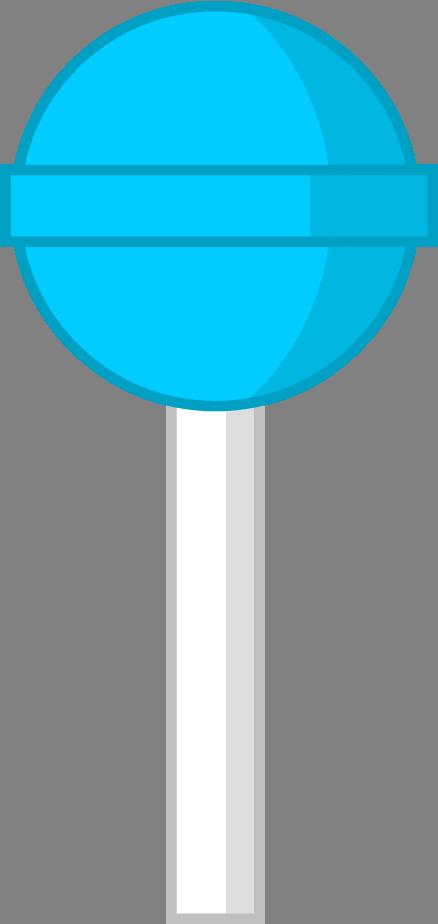 lollipop clipart blue