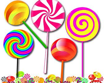 Free lollipop candy.