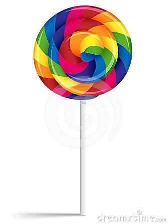 lollipop clipart colorful