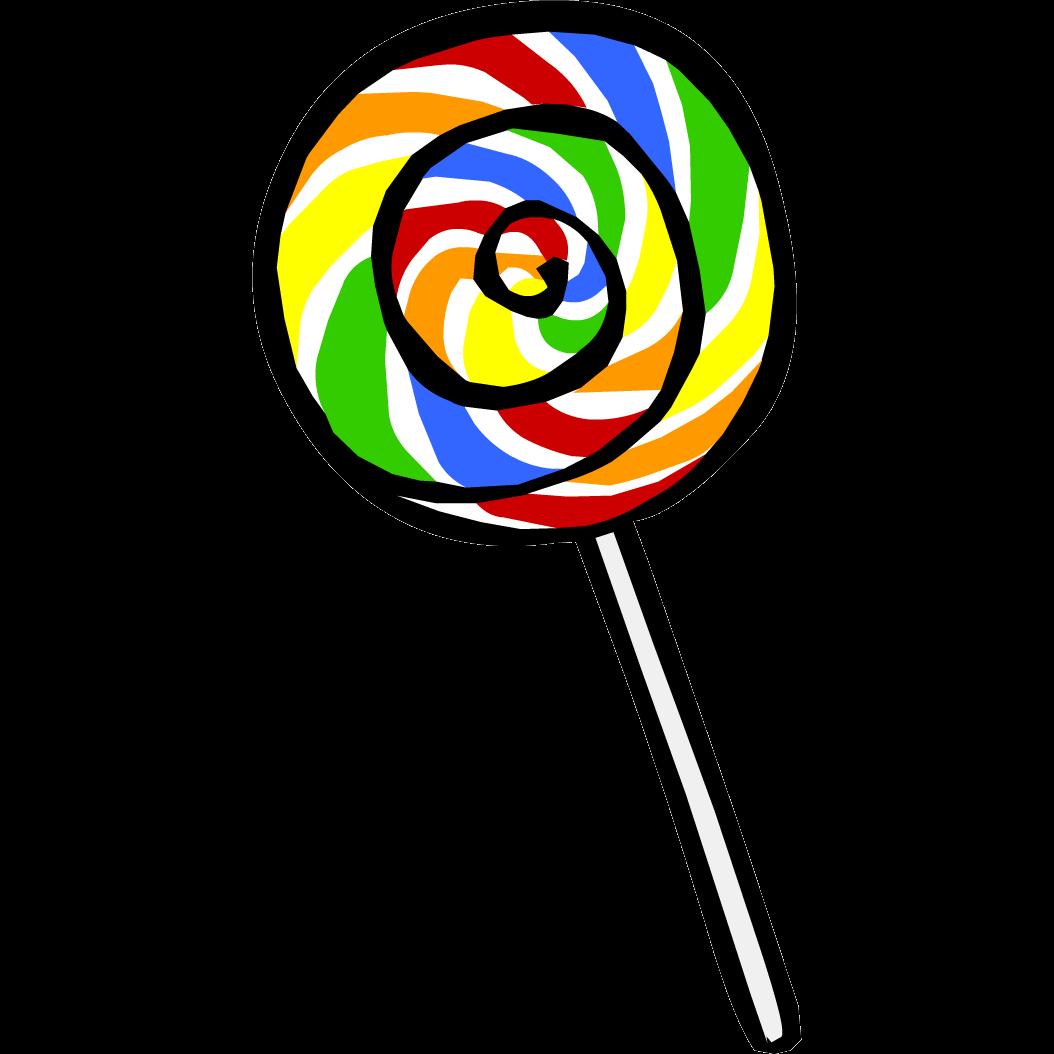 lollipop clipart rainbow