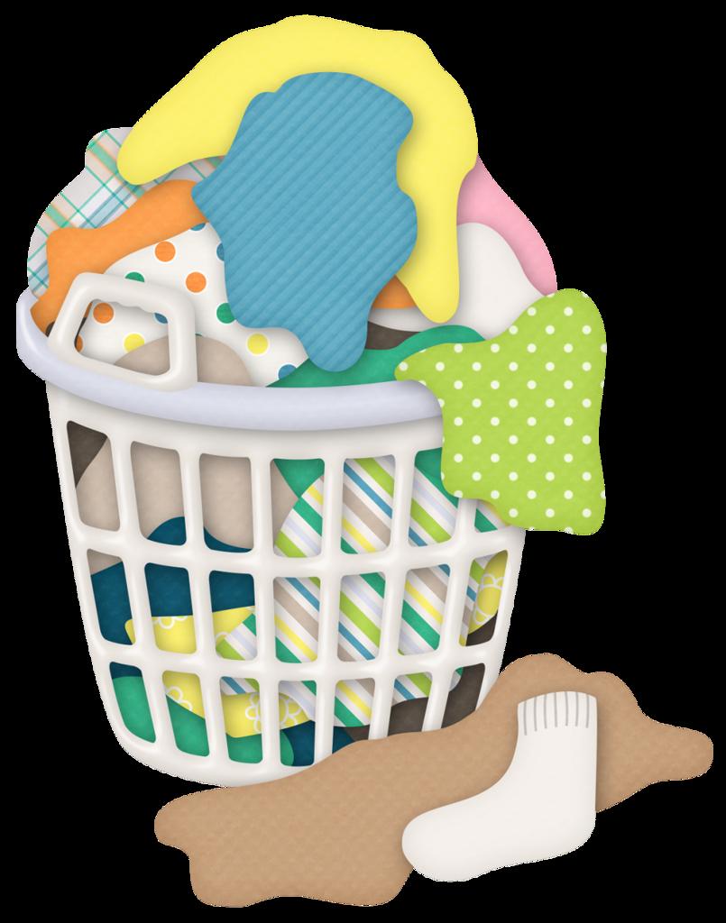 Basket clipart laundry.