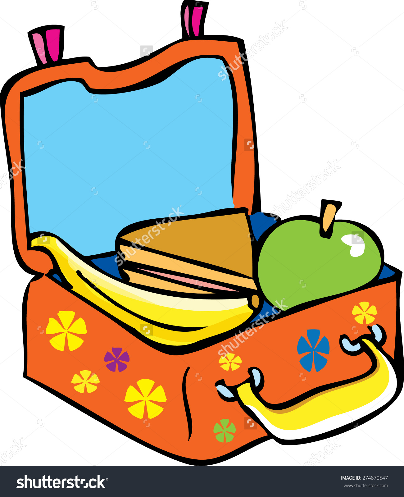Lunch Box Clipart