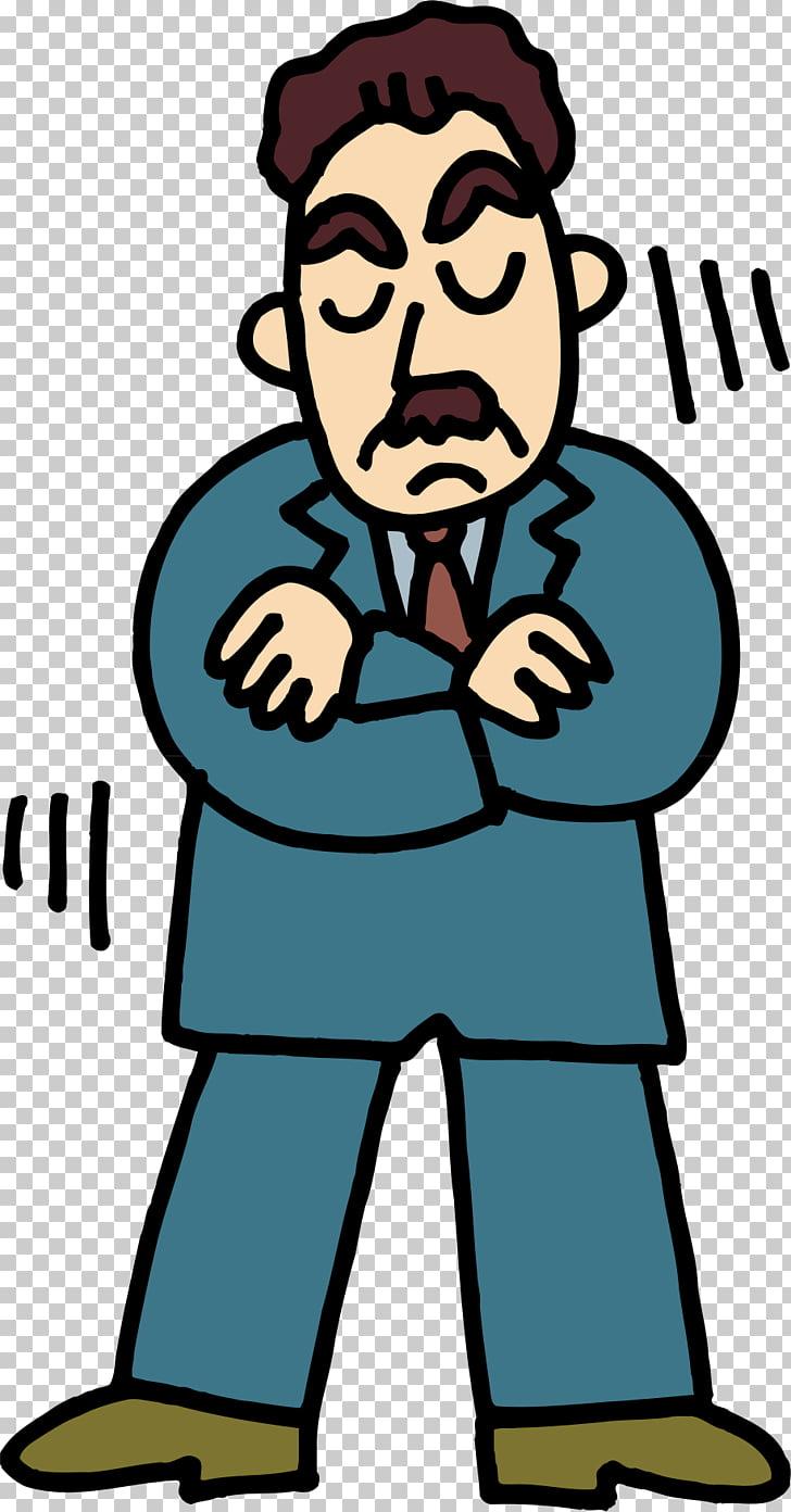 Angry man png.