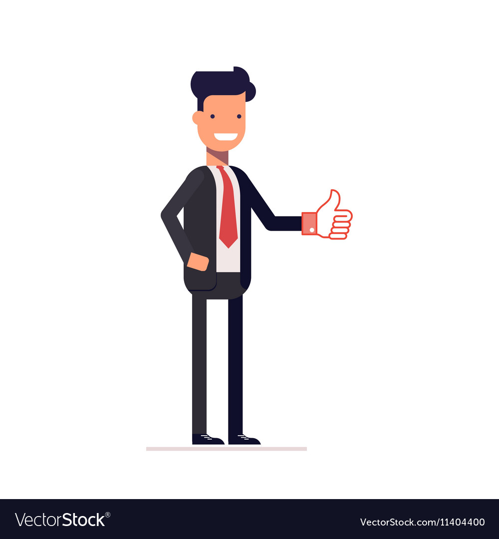 manager clipart businessman